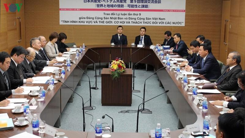 Đảng Cộng sản Việt Nam và Nhật Bản trao đổi lý luận lần thứ 9
