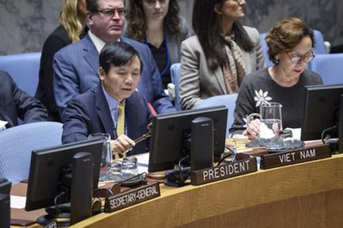 Việt Nam chủ trì thảo luận của Hội đồng Bảo an về tình hình Yemen