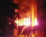 2 người thiệt mạng trong vụ cháy tòa nhà dầu khí ở Thanh Hóa