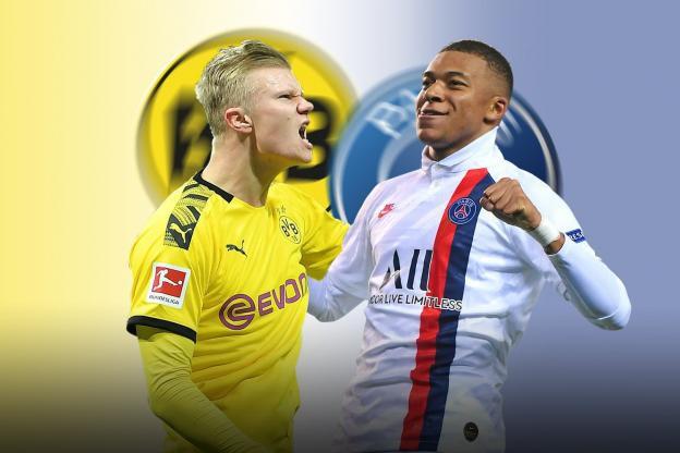 Dortmund – PSG: Đối đầu thượng đỉnh Erling Haaland – Kylian Mbappe
