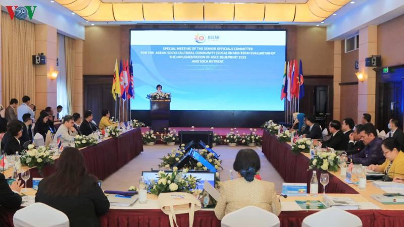 Hội nghị quan chức cấp cao phụ trách cộng đồng văn hóa – xã hội ASEAN