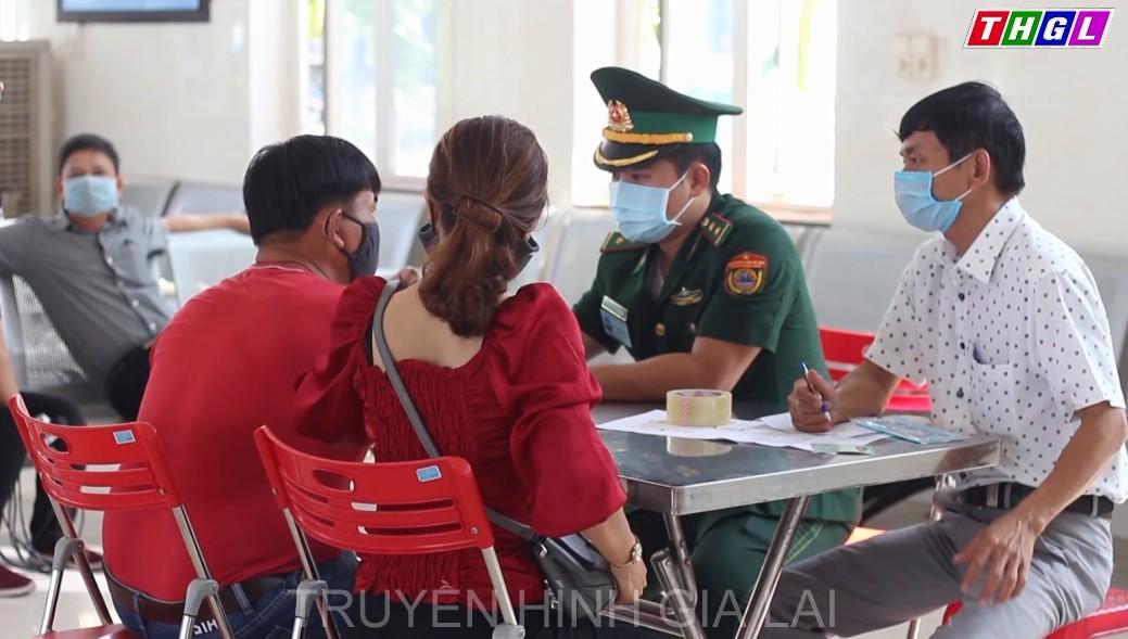 Bắt buộc tất cả hành khách ra vào đảo Lý Sơn đều phải thực hiện khai báo y tế