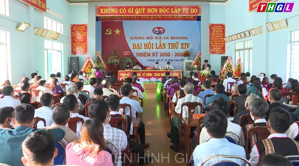 Bí thư Tỉnh ủy Dương Văn Trang dự và theo dõi Đại hội Đảng bộ xã Ia Boòng, huyện Chư Prông