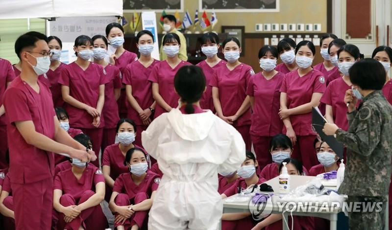 Gần 5.000 người nhiễm SARS-CoV-2 ở Hàn Quốc