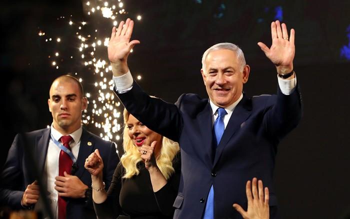 Thủ tướng Israel Netanyahu tuyên bố chiến thắng trong bầu cử Quốc hội