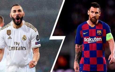 Real lấn lướt Barca trong đội hình hay nhất La Liga trước khi bị hoãn