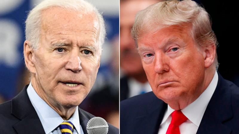 oe Biden dẫn trước Trump 8 điểm trong cuộc thăm dò trên cả nước Mỹ