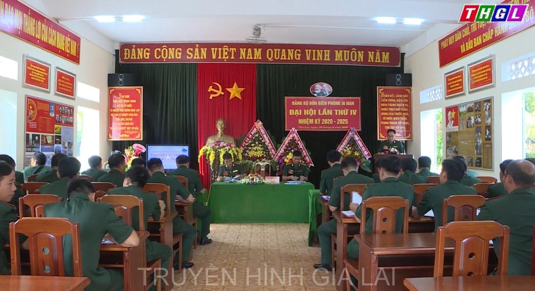Đảng bộ Đồn Biên phòng Ia Nan: Đại hội lần thứ IV, nhiệm kỳ 2020-2025