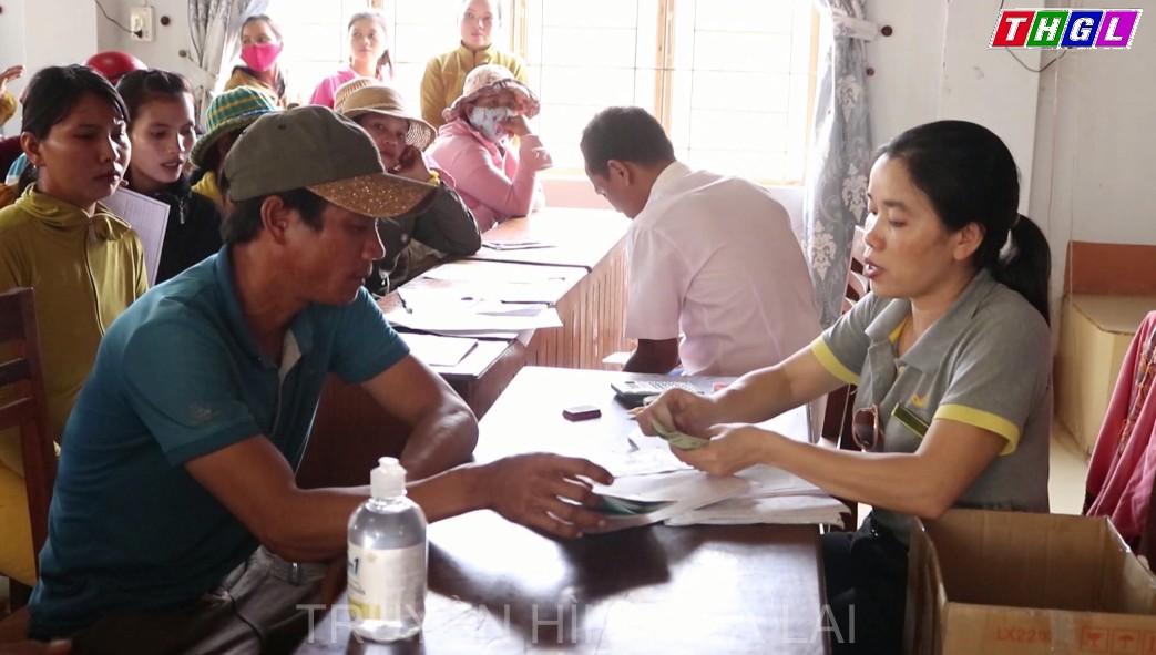 Huyện Krông Pa chi trả hỗ trợ người bị ảnh hưởng bởi dịch Covid-19