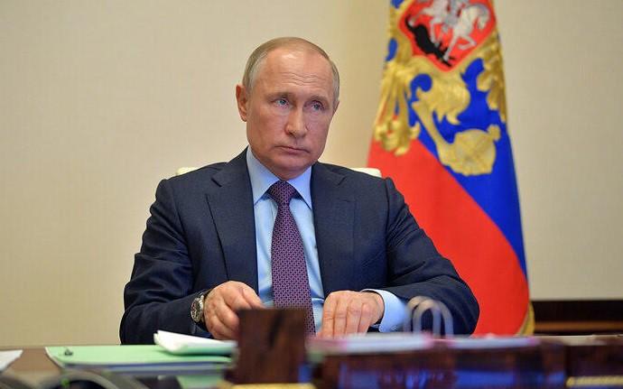 Tổng thống Nga Putin họp về biện pháp khôi phục kinh tế thời Covid-19