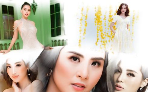 Nhan sắc Hoa hậu Việt Nam trong 10 năm qua