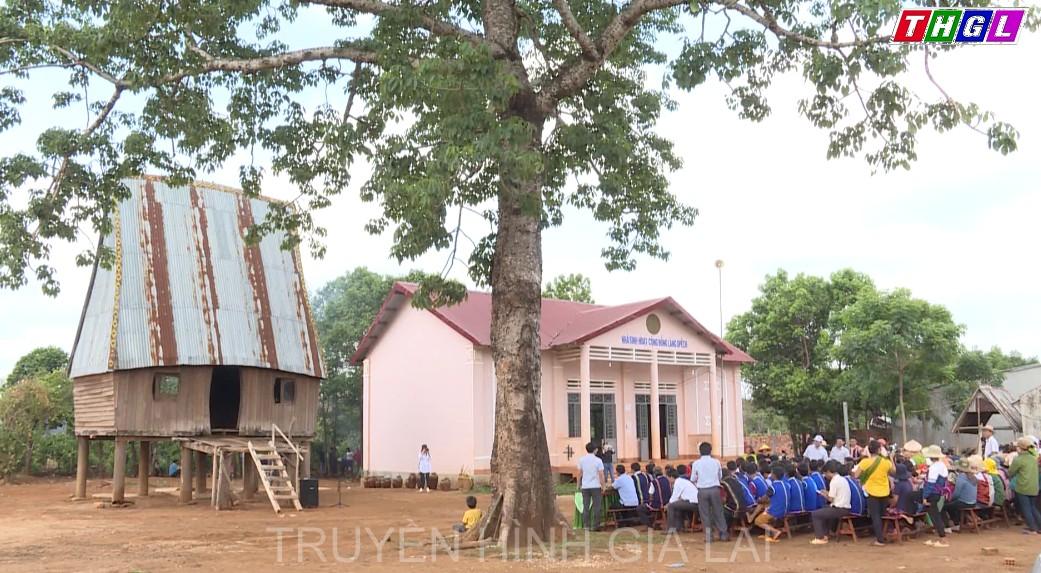 Phục dựng Lễ cúng cầu mưa của người Jrai