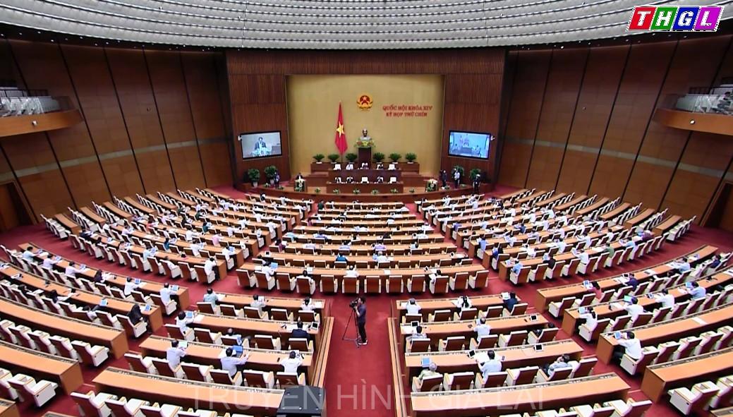 Quốc hội thảo luận trực tuyến về dự án Luật Doanh nghiệp sửa đổi
