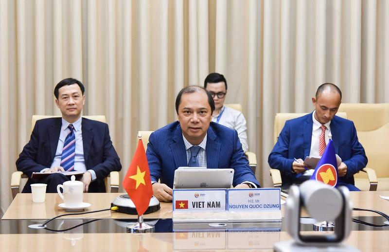 Đối thoại cao cấp về Tăng cường tính tương hỗ giữa Tầm nhìn Cộng đồng ASEAN 2025