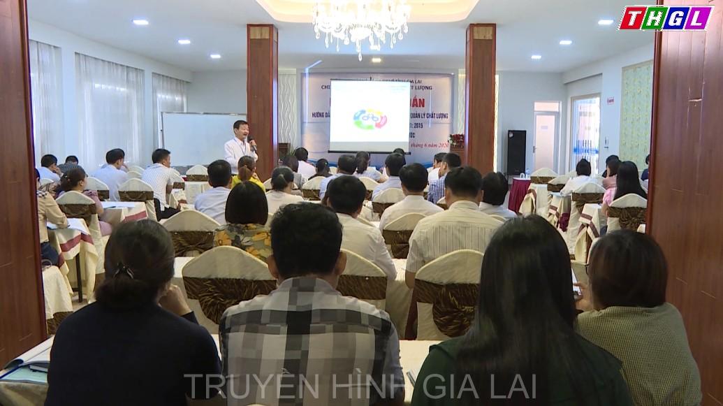 Tập huấn hướng dẫn chuyển đổi và đào tạo chuyên gia đánh giá nội bộ HTQLCL theo Tiêu chuẩn Quốc gia TCVN ISO 9001:2015