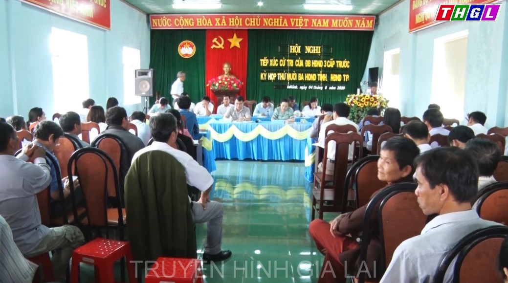 Hội nghị tiếp xúc cử tri của đại biểu hội đồng nhân dân 3 cấp