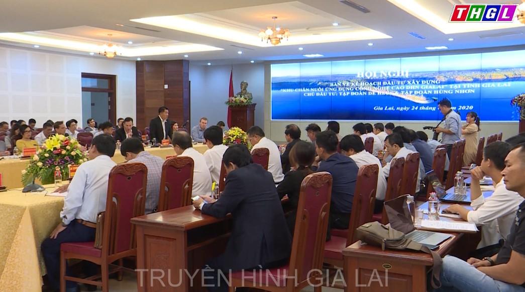 """Hội nghị bàn về kế hoạch đầu tư xây dựng """"Khu chăn nuôi ứng dụng công nghệ cao DHN Gia Lai"""""""
