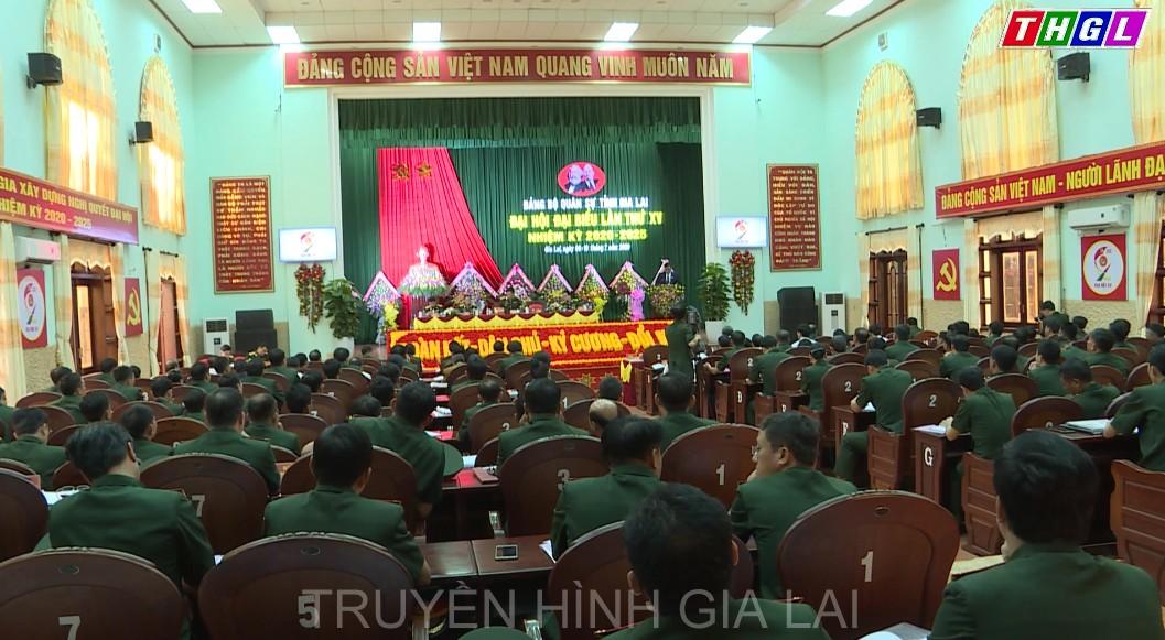 Khai mạc Đại hội Đại biểu Đảng bộ Quân sự tỉnh Gia Lai lần thứ XV, nhiệm kỳ 2020 – 2025