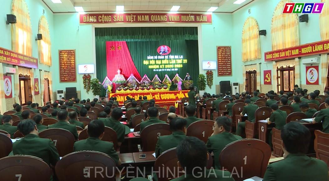 Đại hội đại biểu Đảng bộ Quân sự tỉnh lần thứ XV, nhiệm kỳ 2020 – 2025 thành công tốt đẹp