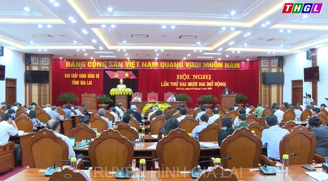 Khai mạc Hội nghị Ban Chấp hành Đảng bộ tỉnh lần thứ 22 (mở rộng)