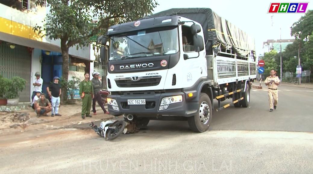 Tiềm ẩn tai nạn giao thông tại tuyến đường Hùng Vương – Lý Thái Tổ