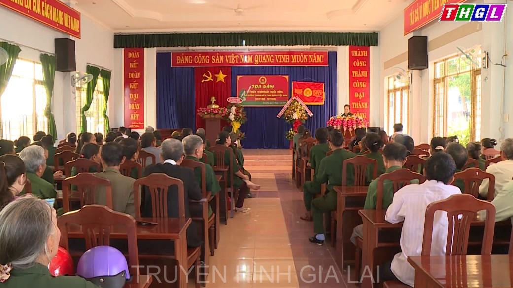 Hội Cựu Thanh niên xung phong huyện Krông Pa tổ chức tọa đàm kỷ niệm 70 năm ngày truyền thống lực lượng thanh niên xung phong Việt Nam