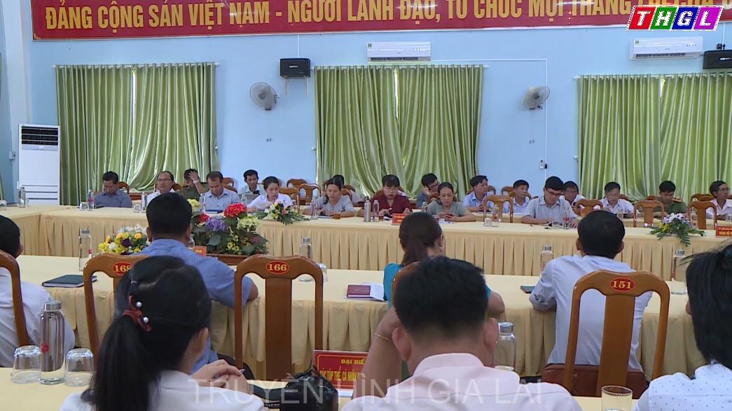 Huyện ủy Phú Thiện tổ chức Hội nghị tổng kết công tác đại hội Đảng nhiệm kì 2020 – 2025