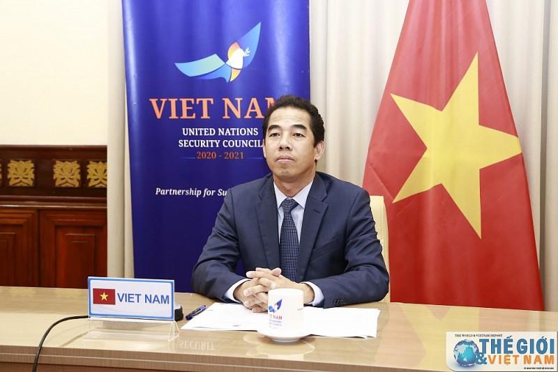 Việt Nam dự họp trực tuyến của HĐBA về đại dịch và an ninh