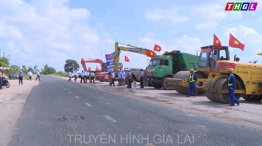 Chính thức nâng cấp, mở rộng các đoạn xung yếu trên Quốc lộ 25 qua địa bàn tỉnh Gia Lai