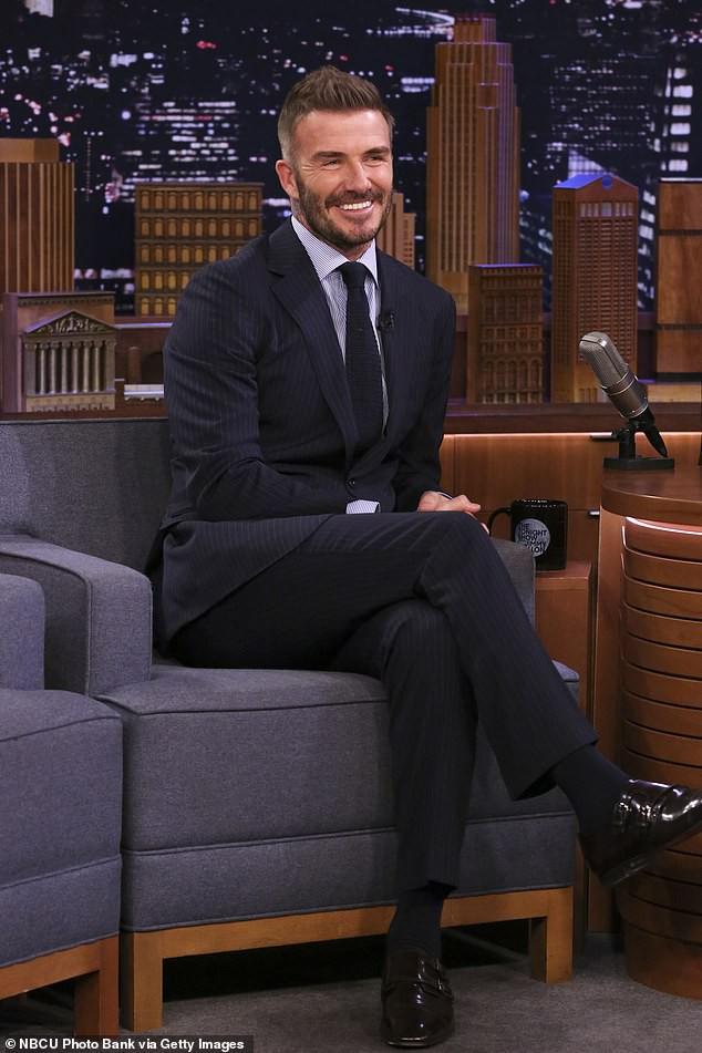 David Beckham dự định làm phim về cuộc đời mình