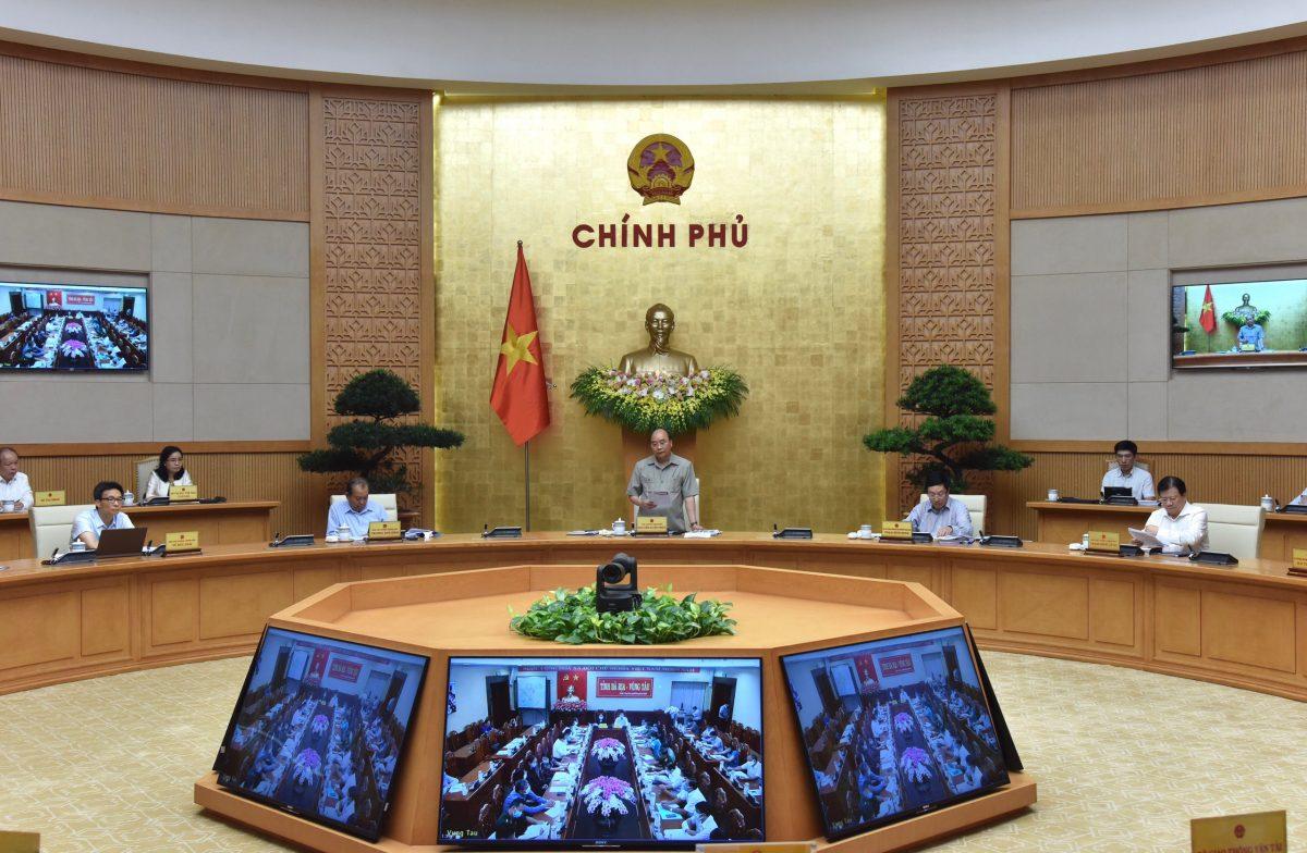 Thủ tướng chủ trì họp trực tuyến toàn quốc về phòng, chống COVID-19