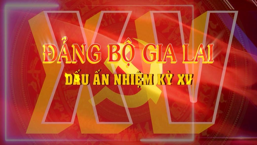 Đảng bộ Gia Lai-Dấu ấn nhiệm kỳ XV