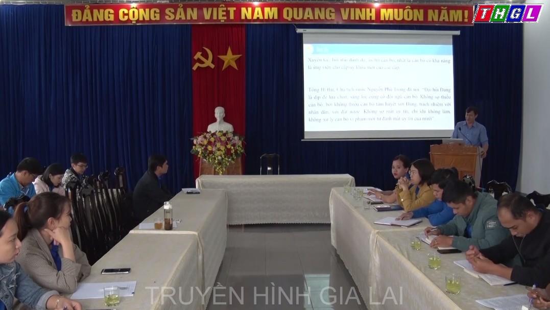 Đoàn Thanh niên tỉnh tổ chức Hội nghị tập huấn Báo cáo viên cấp tỉnh năm 2020