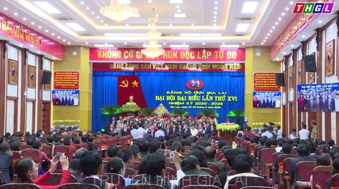 Đại hội đại biểu Đảng bộ tỉnh Gia Lai lần thứ XVI, nhiệm kỳ 2020 – 2025 thành công tốt đẹp