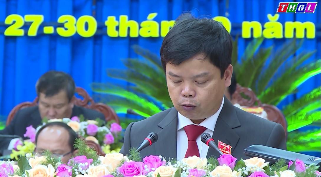 Đại hội đại biểu Đảng bộ tỉnh khóa XVI: Đề ra nhiều giải pháp đột phá trên các lĩnh vực