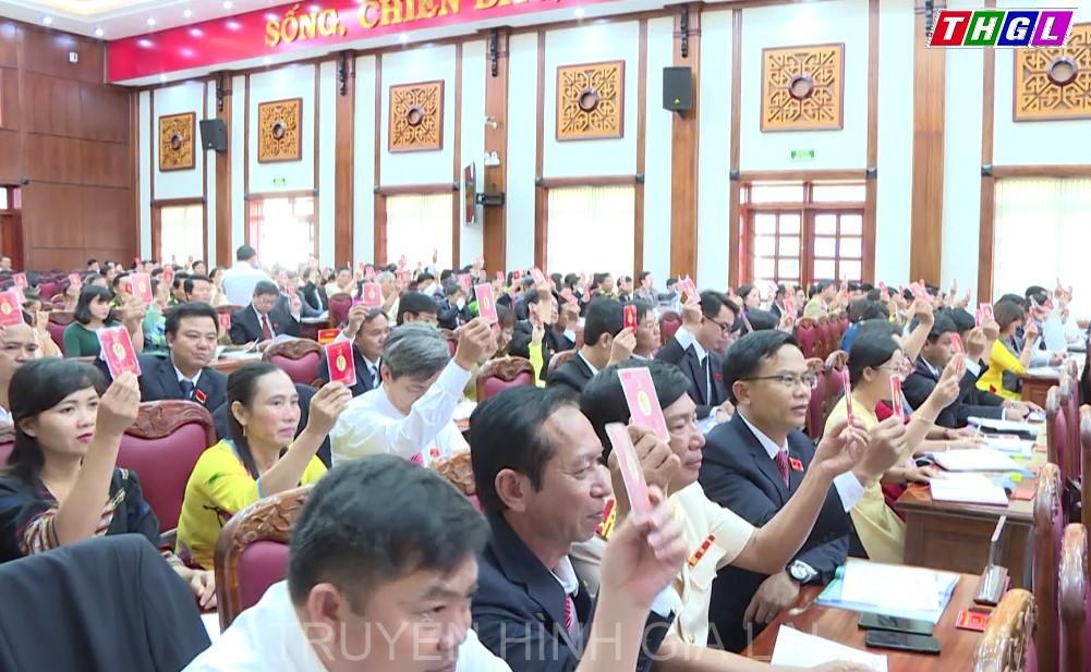 Kết quả bầu Đoàn đại biểu Đảng bộ tỉnh Gia Lai dự Đại hội đại biểu toàn quốc lần thứ XIII của Đảng