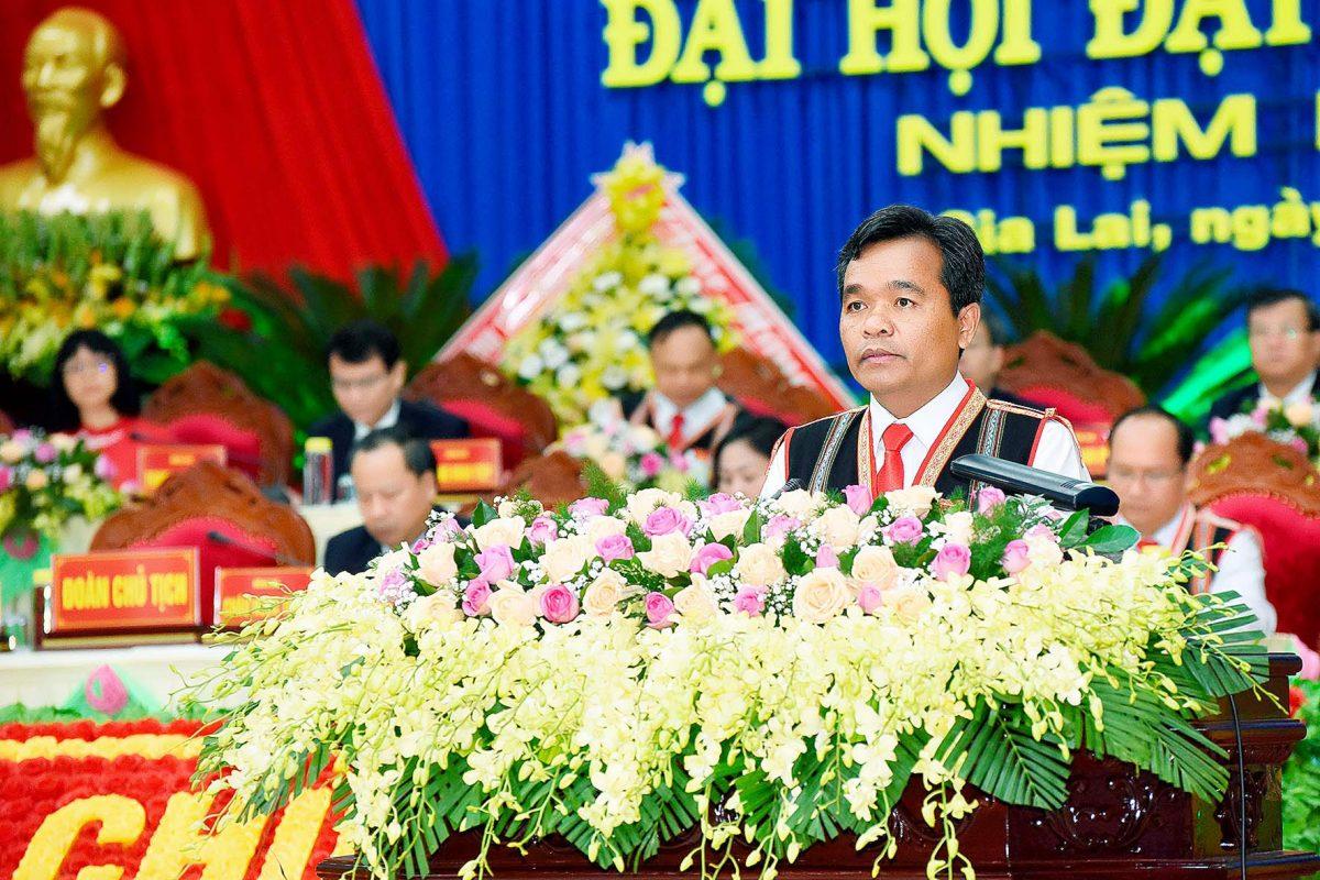 Đồng chí Hồ Văn Niên tái đắc cử Bí thư Tỉnh ủy Gia Lai khóa XVI