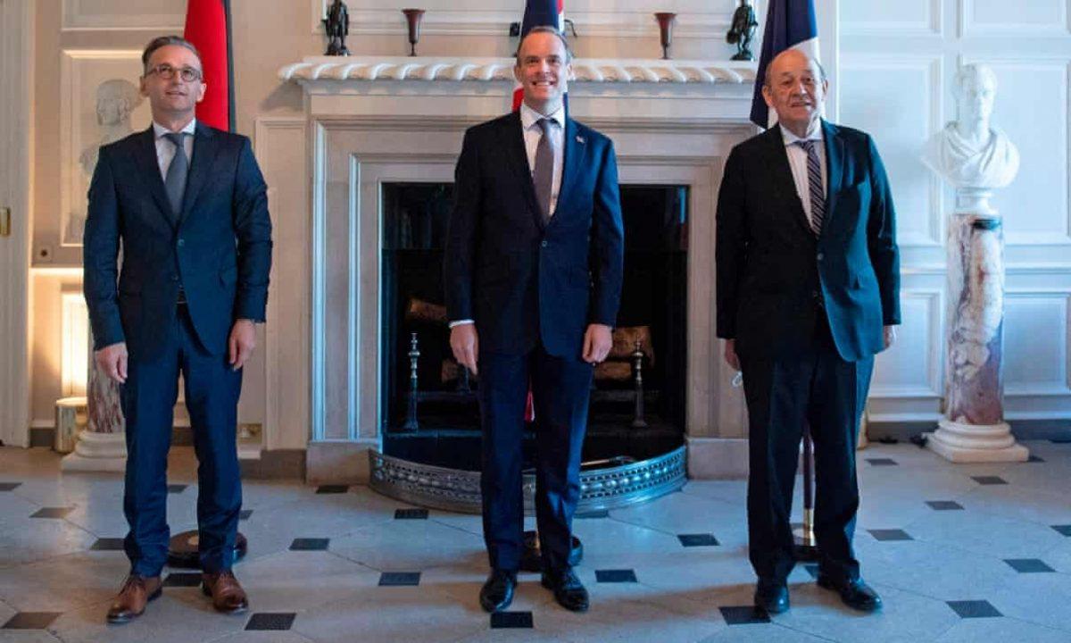 Anh – Pháp – Đức tiếp tục bác ý định tái trừng phạt Iran của Mỹ