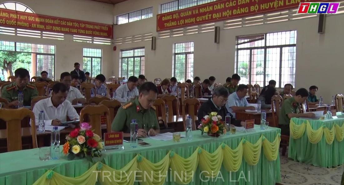 Mang Yang tổng kết công tác vận động đấu tranh xóa bỏ tà đạo Hà Mòn từ năm 2009 đến nay