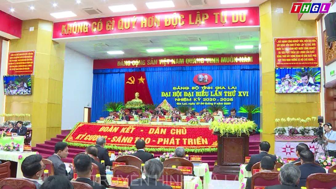 Đại hội đại biểu Đảng bộ tỉnh lần thứ XVI: Tập trung thảo luận nhiều vấn đề quan trọng