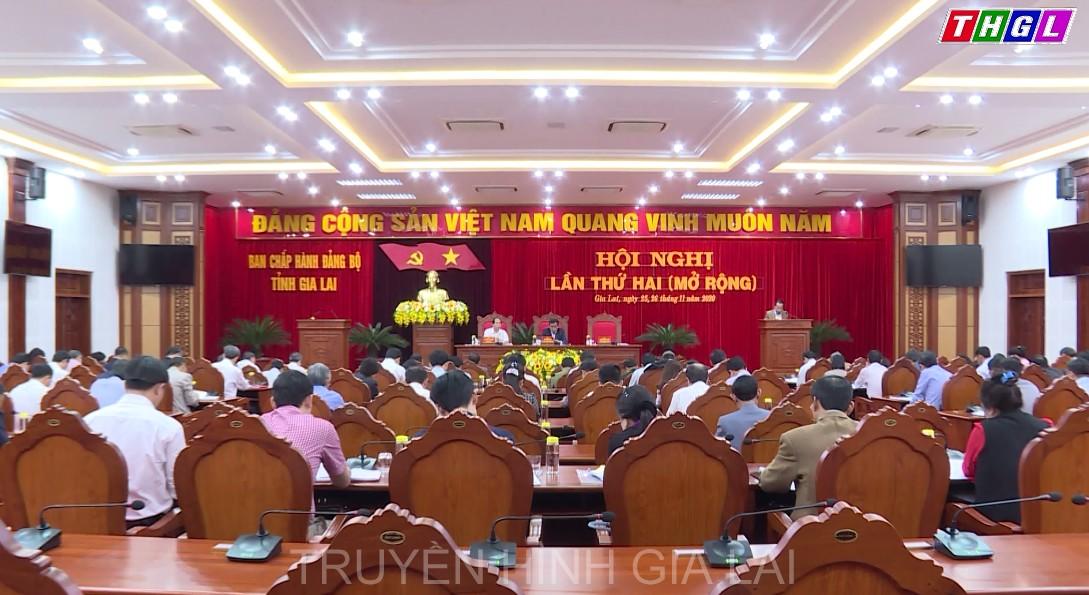Khai mạc Hội nghị Ban Chấp hành Đảng bộ tỉnh Gia Lai lần thứ 2, khóa XVI