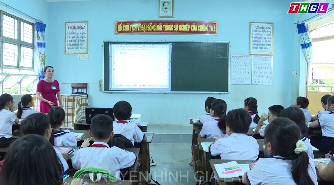 """Ngành Giáo dục Ayun Pa đẩy mạnh phong trào thi đua """"dạy tốt, học tốt"""""""
