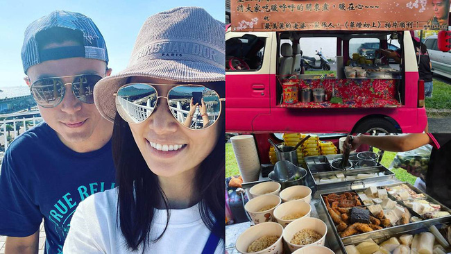 Lâm Tâm Như được chồng gửi 1 xe tải đồ ăn đến tận phim trường