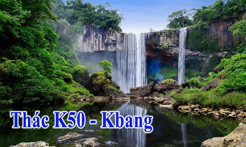 Thác K50 – Kbang
