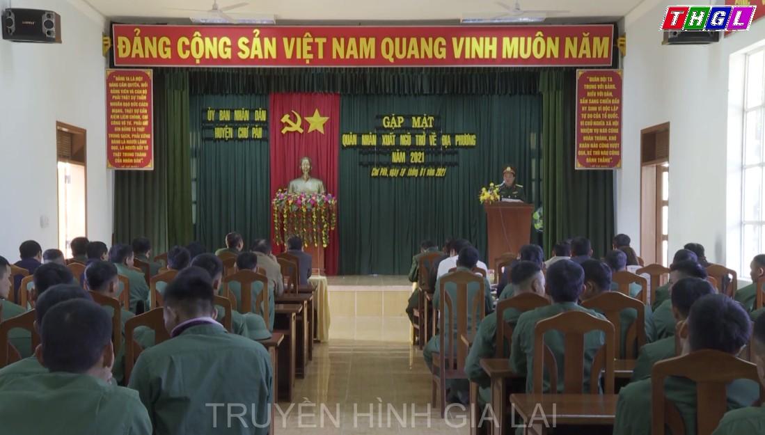 Các địa phương đón quân nhân xuất ngũ hoàn thành nghĩa vụ quân sự trở về địa phương