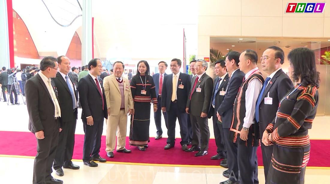 Ấn tượng của đại biểu về Phiên Khai mạc và trách nhiệm đóng góp ý kiến tại Đại hội XIII