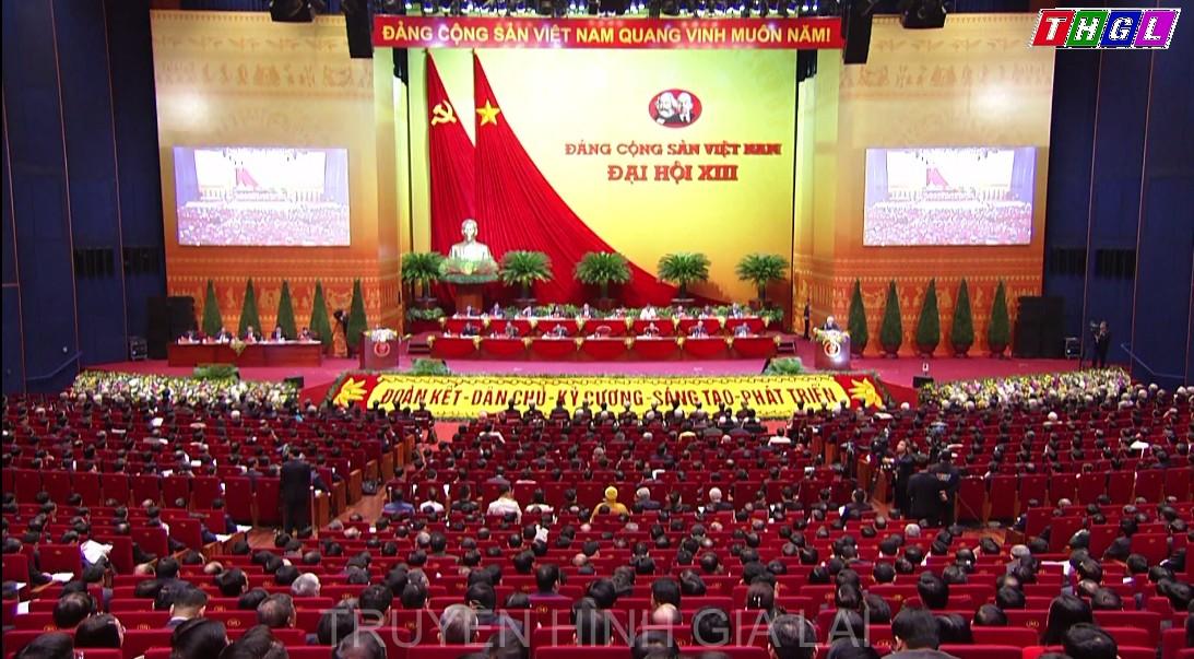 Khai mạc trọng thể Đại hội đại biểu toàn quốc lần thứ XIII của Đảng Cộng sản Việt Nam