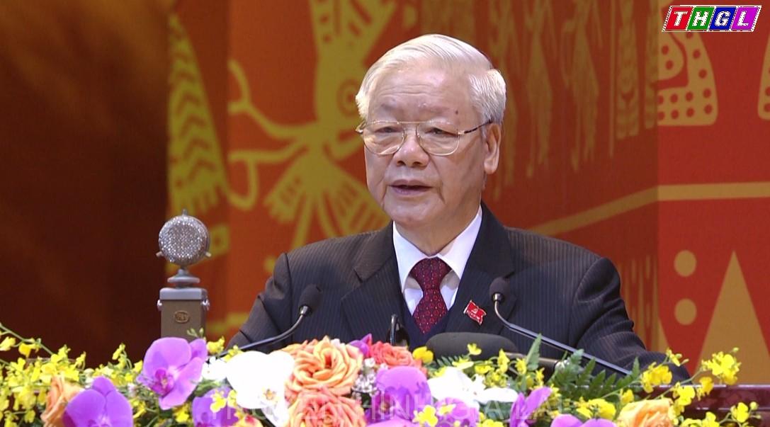 Báo cáo chính trị của Tổng Bí thư, Chủ tịch nước Nguyễn Phú Trọng