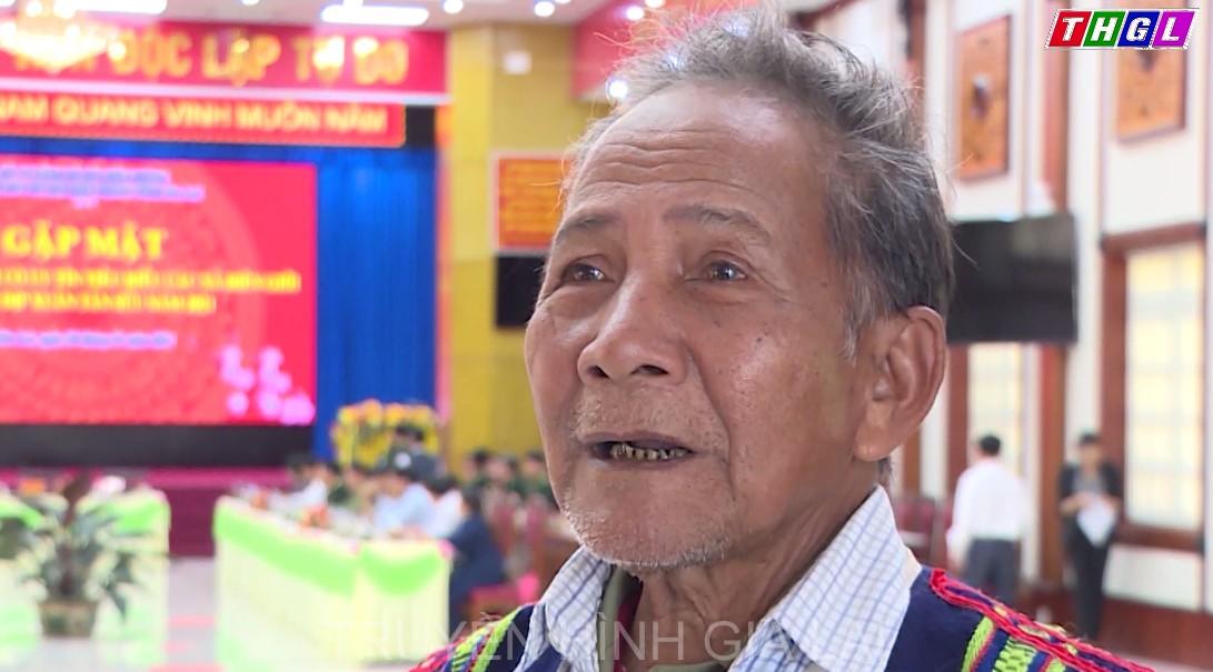 Nhân dân các dân tộc tỉnh Gia Lai phấn khởi và tin tưởng vào sự thành công của Đại hội đại biểu toàn quốc lần thứ XIII của Đảng