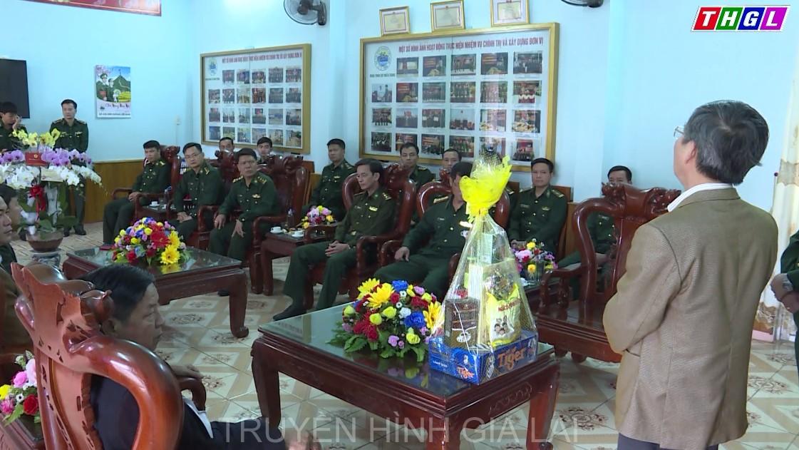 Đồng chí Huỳnh Quang Thái – Trưởng Ban Tổ chức Tỉnh ủy đã đến thăm, chúc tết cán bộ, chiến sĩ Đoàn Trinh sát miền Trung, Bộ tư lệnh Bộ độ Biên phòng